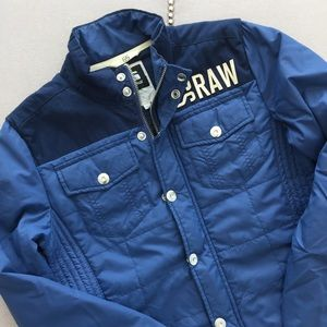 G Star Raw Hawkeye Quilted Overshirt